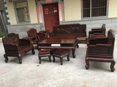 大红酸枝沙发家具批发价格