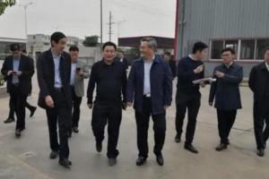 临沂市副市长费县县长带队到贵港木业区考察学习