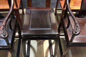 交趾黄檀珍藏品皇宫椅三件套厂家批发价格