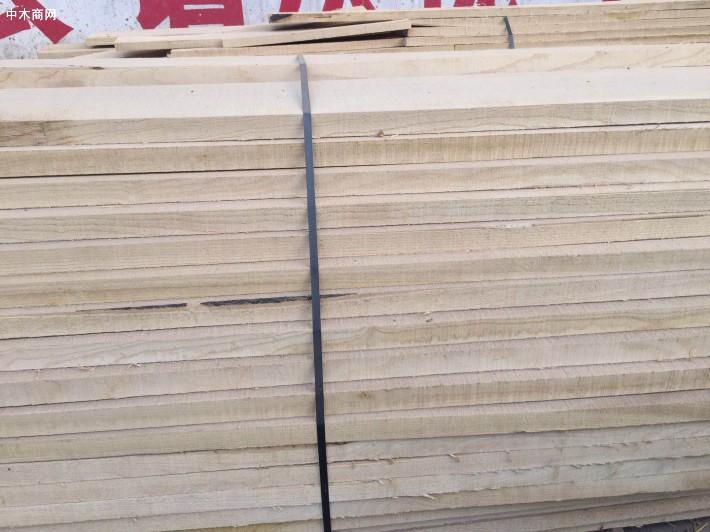 临颍国产白蜡木(白椿木)板材价格多少钱一立方米图片