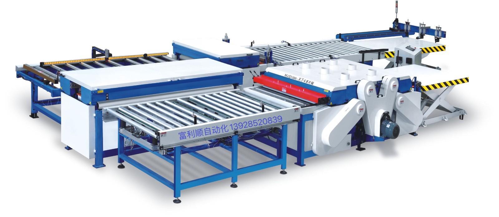 板式多片锯及其自动化生产线