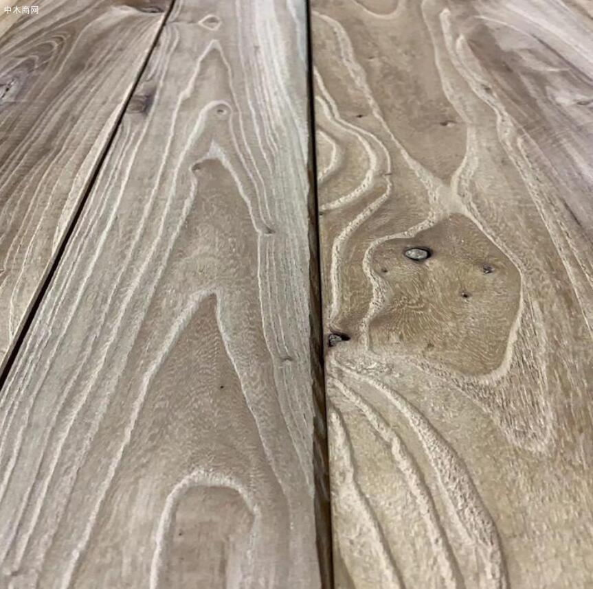 河南老榆木实木家具板材价格图片