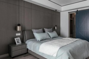 木饰面施工工艺,装修效果美观大方,保护墙面实用高档