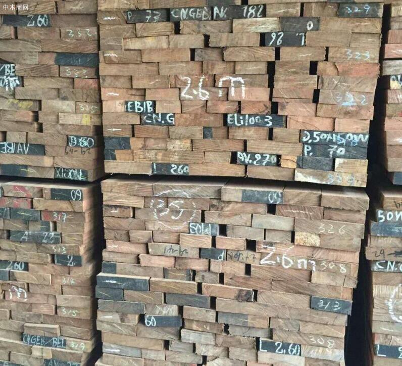 木材市场沙比利木板材价格行情