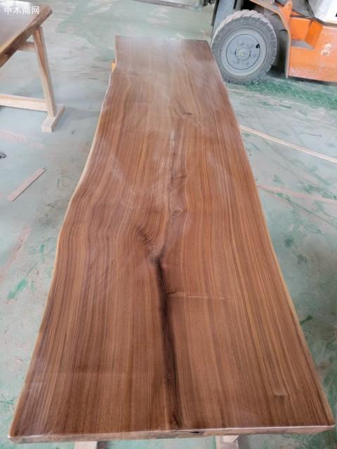 美国黑胡桃木大板生产厂家求购