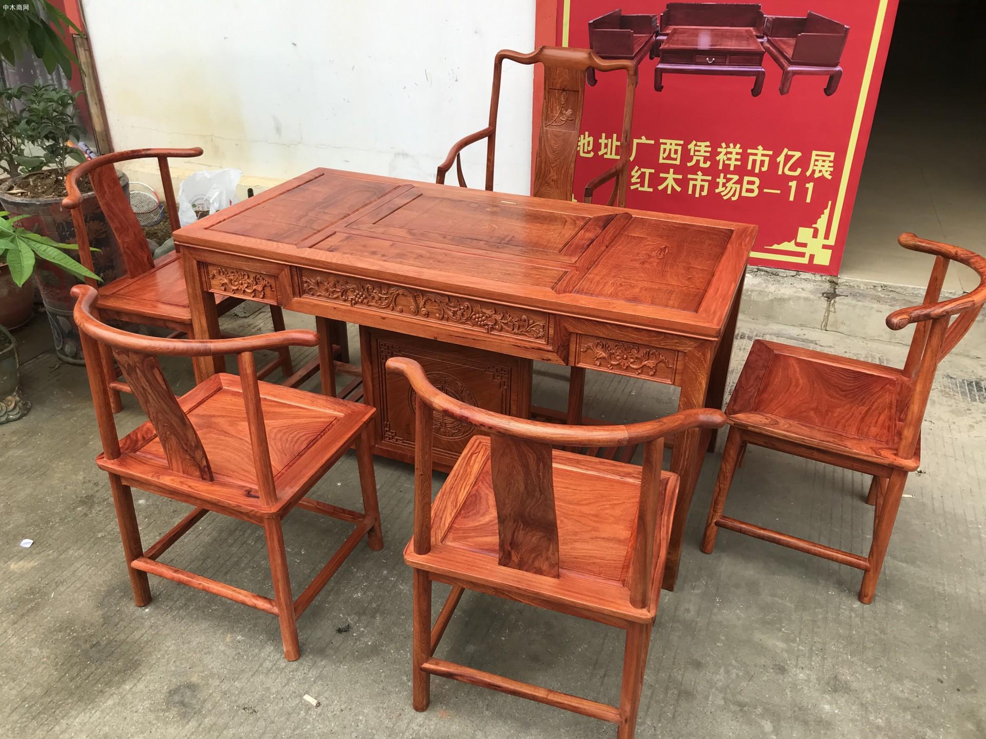 缅甸花梨木茶桌怎么保养
