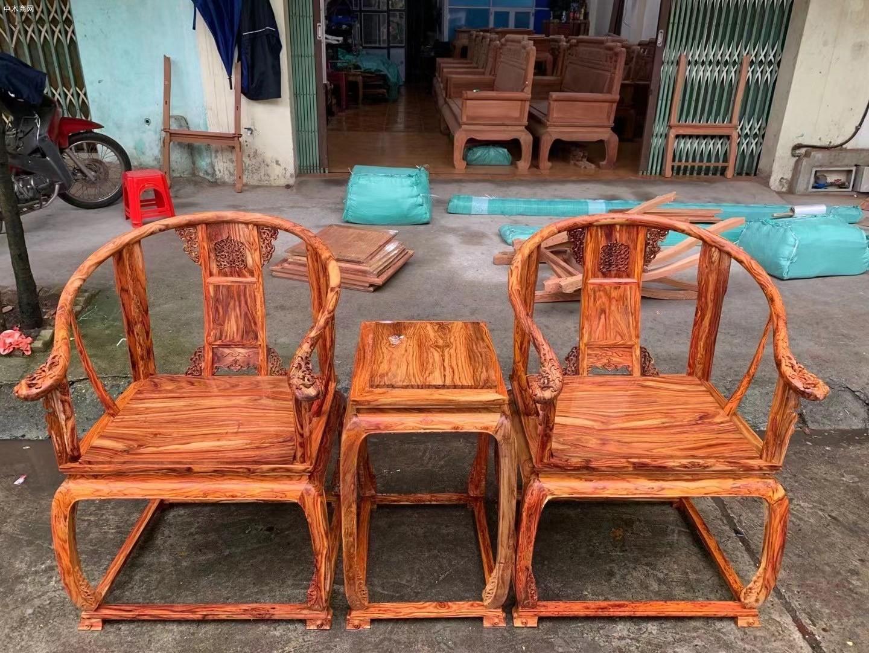 越南黄花梨黄宫椅批发厂家品牌