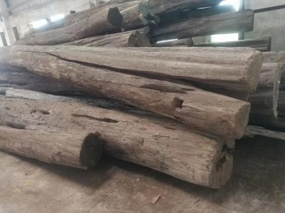 缅甸柚木原木厂家批发价格
