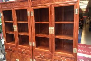 缅甸花梨木家具书柜优缺点?
