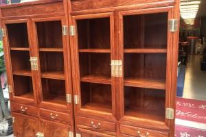 缅甸花梨木书柜书桌大概怎么价