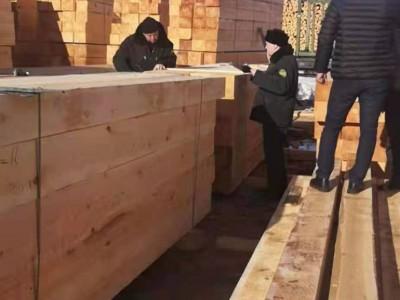 俄罗斯樟子松防腐木供应商质量材质上乘