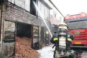 中山大涌一家具厂员工在火灾现场擅自行事被拘留