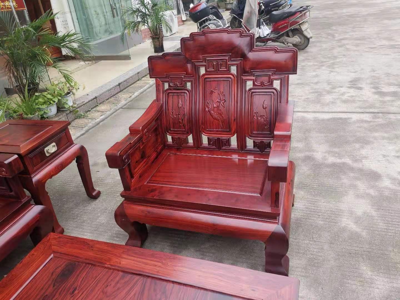 白酸枝奥氏黄檀步步高123沙发6件套产品价格是多少批发