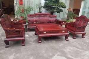 白酸枝奥氏黄檀步步高123沙发6件套产品价多少?