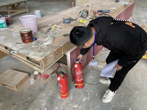 广东大塘镇开展木业企业安全生产检查