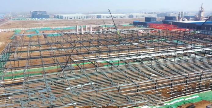 临沂西城:春季开工正当时模板生产项目建设掀热潮