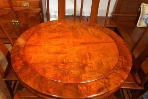 缅甸花梨明式精品餐桌七件套价格多少