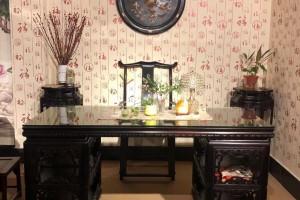 大红酸枝交趾黄檀书桌椅的优点和好处?