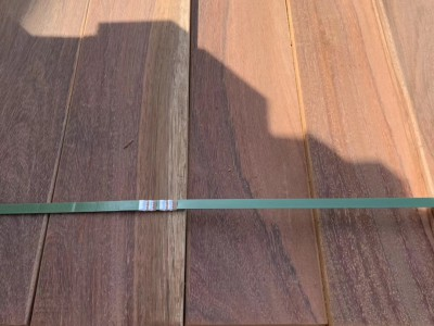 进口木材红铁木公园地板定制加工