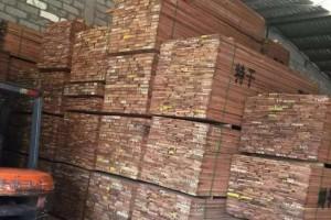 广东市场巴花木板材价格行情_2021年5月8日