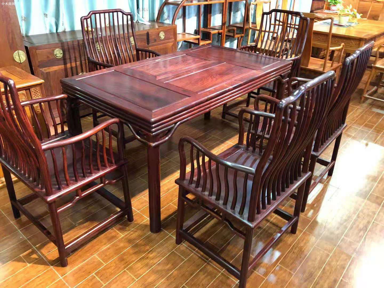 红木家具里的花枝茶台一般是什么木呢厂家