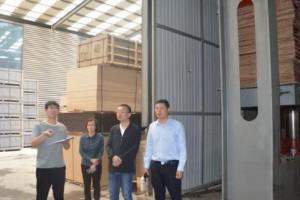 探沂镇开展木业企业安全生产乡镇交换执法检查活动