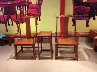 缅甸花梨官帽椅多少钱一把?