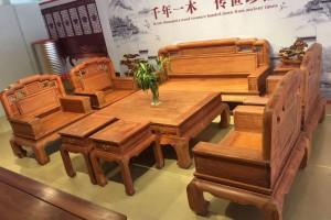 缅甸花梨木沙发如何摆放,有什么讲究吗?