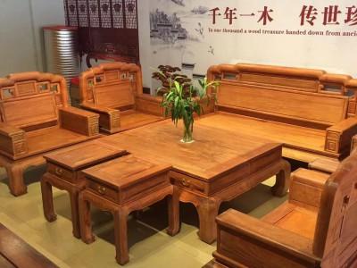 缅甸花梨沙发10件套什么价位?