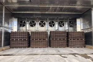湖南益阳一木材加工厂突发火灾