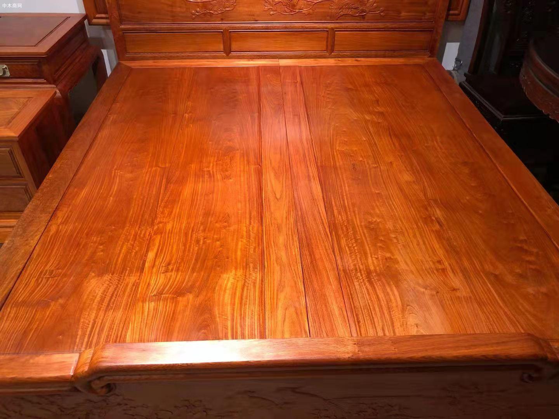 缅甸花梨木大床对身体有哪些好处批发