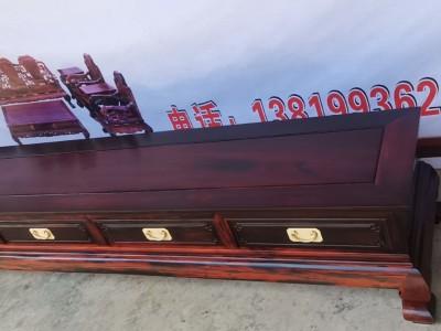 老挝大红酸枝电视柜价格多少钱