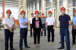 崇左市委副书记调研祥盛绿色板材产业园