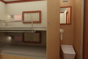 房车室内收纳柜定制-1.22*2.40轻质阻燃房车板材