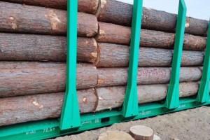 今年中俄线路预计开行20列进口木材