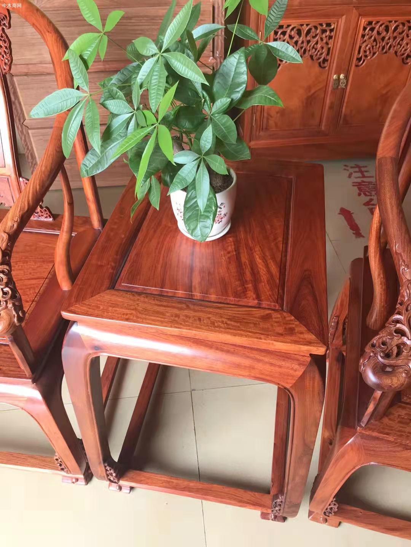缅甸花梨皇宫椅多少钱三件套价格