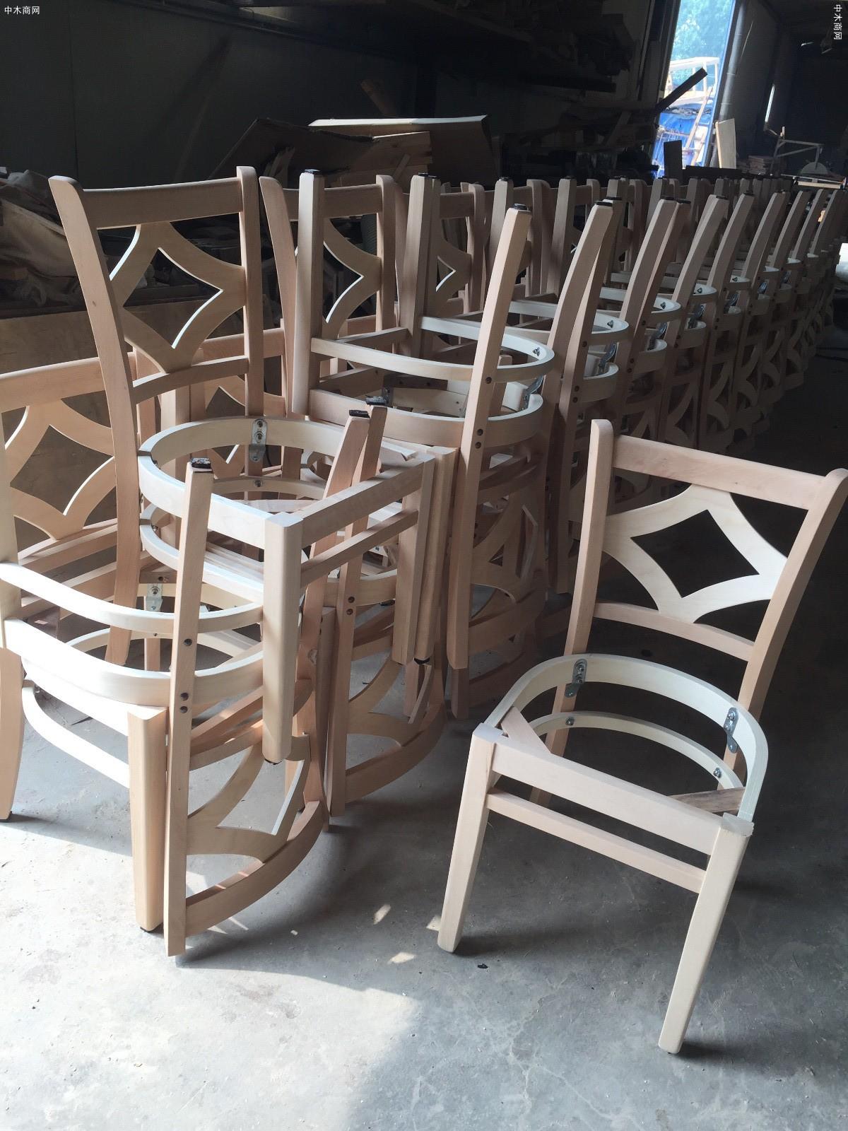 专业生产出口椅子实木家具价格