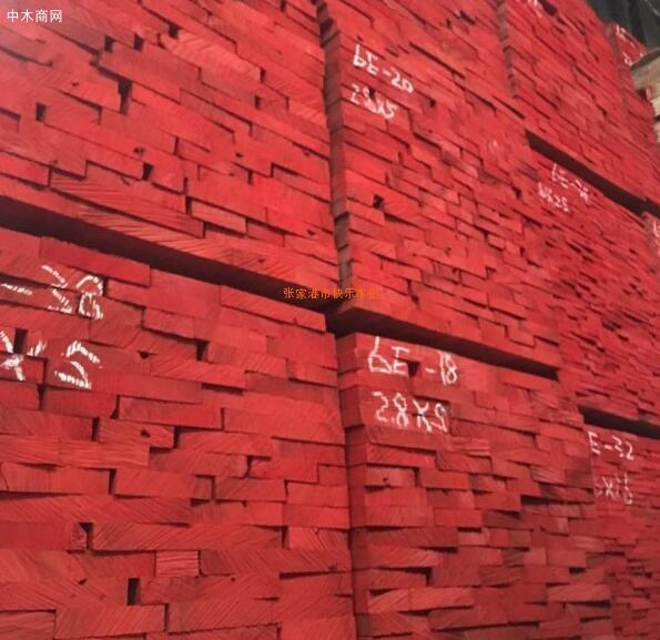 张家港海棠木、唐木价格拉升100元/立方米